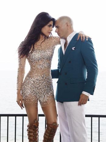 Priyanka Chopra And Pitbull Get Exotic In Music Video Teaser!