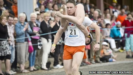 This Happened: Wife Carrying Championships 2013 In Finland