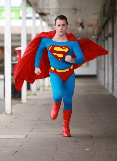 It's A Bird, It's A Plane, It's...Superman In Sheffield, UK