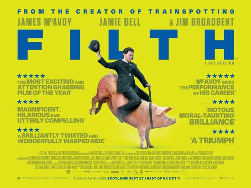 James McAvoy's New Film Filth Debuts New Trailer!