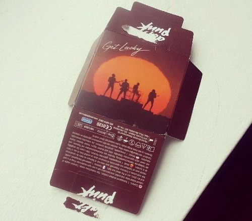 Daft Punk Unveils Brand of Condoms for When You 'Get Lucky'