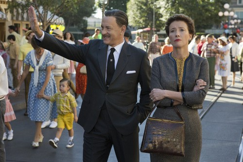 First Look At Tom Hanks and Emma Thompson In Saving Mr. Banks!