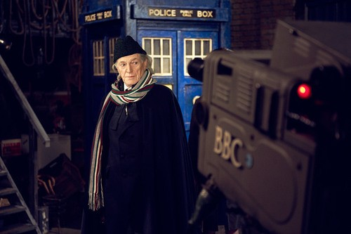 Images Released of David Bradley as First Doctor in Doctor Who Biopic!