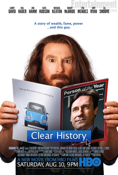 Check Out This Poster For HBO's Clear History!