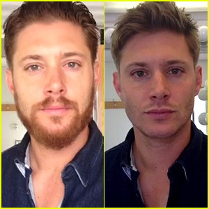 Jensen Ackles Loses Beard As Supernatural Hiatus Ends
