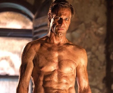It's Allllive! Aaron Eckhart Is All Sewn Up As Frankenstein's Monster!