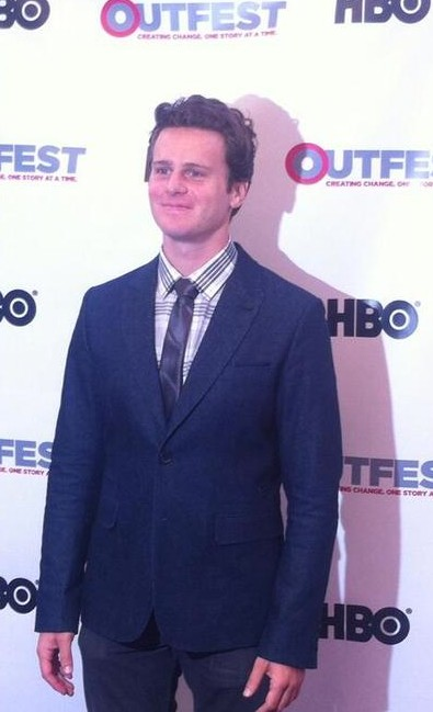 Jonathan Groff Shines At Outfest Opening Night Gala!