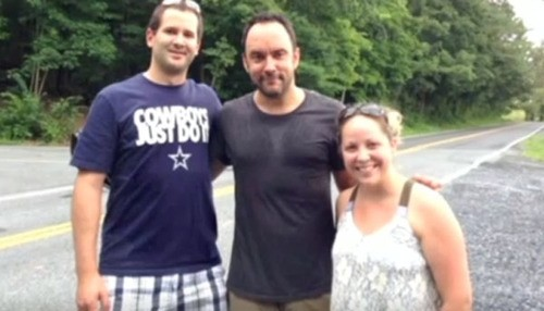Dave Matthews Hitchhikes To His Own Show With A Fan!