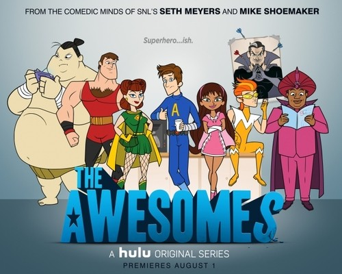 Seth Myers Is Going To Get Awesome In His Hulu Animated Series