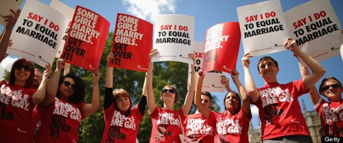 Love Is Love For The Brits: Equality Marriage Bill Passes In the UK!