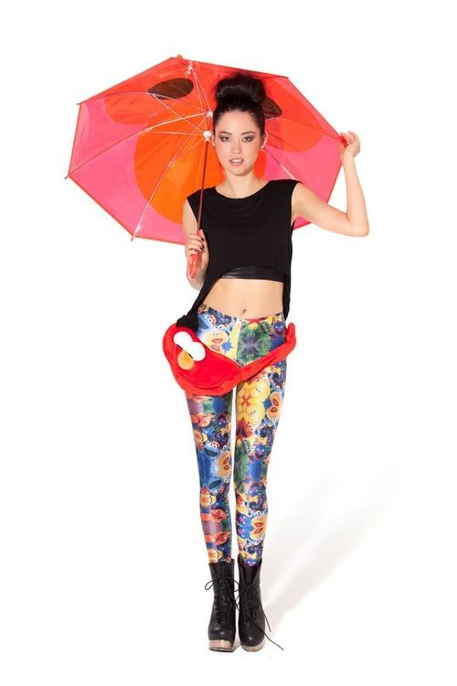Black Milk Unveils Its New Collection: Sesame Street!