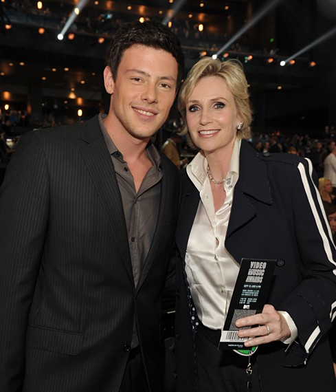 Jane Lynch Shares Her Love for Cory Monteith On Jay Leno!