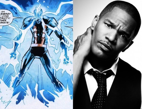 FIRST LOOK! Jamie Foxx As Electro In Amazing Spiderman Sequel