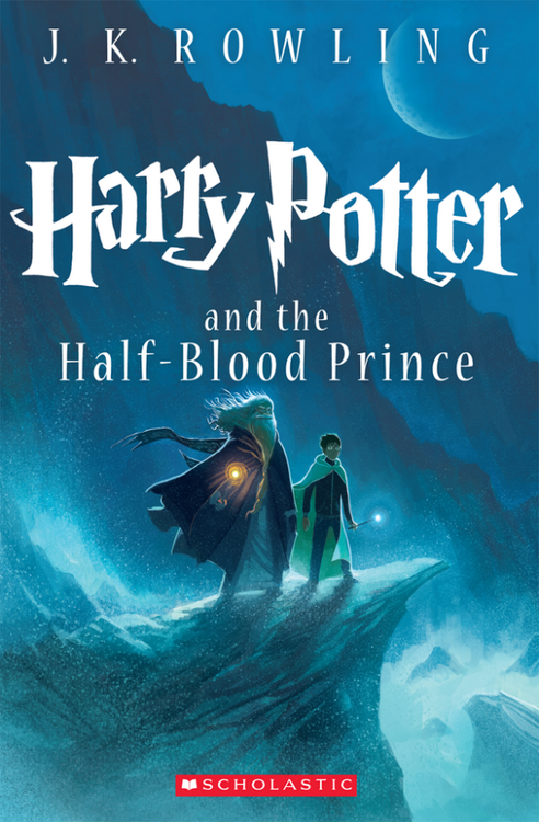 Comic Con Reveals New Cover For Harry Potter's Half Blood Prince!
