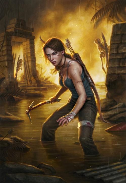 New Tomb Raider Comic Series Launching Early 2014