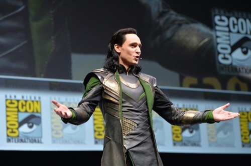 Tom Hiddleston: Comic Con's Biggest Surprise