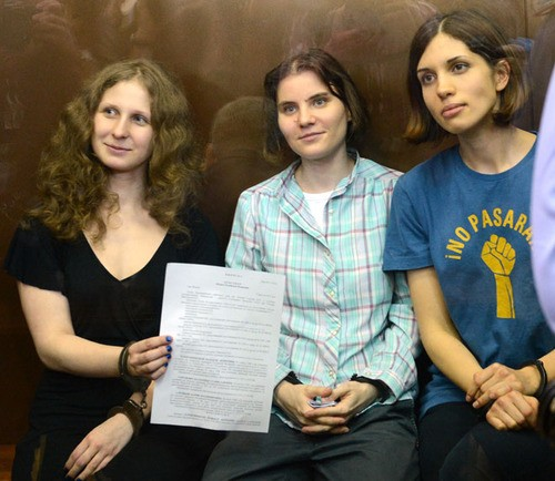 Over One Hundred Musicians Support Pussy Riot's Release