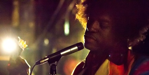 First Look At OutKast's Andre 3000 In Jimi Hendrix Biopic