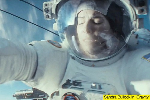Sandra Bullock Swaps A Bus For A Space Shuttle For Gravity