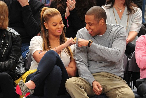 The Honeymoon Is Not Over: Jay-Z And Beyonce Share Tender Moment