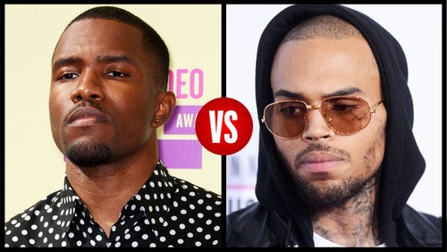 The Feud Between Frank Ocean And Chris Brown Continues In Song
