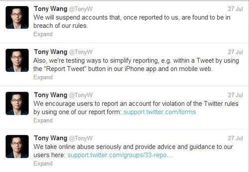 Twitter Overhauls System on Reporting Abusive Tweeting