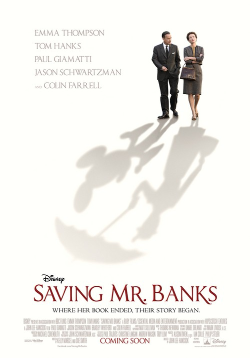 Tom Hanks Channels Walt Disney In New Saving Mr. Banks Poster