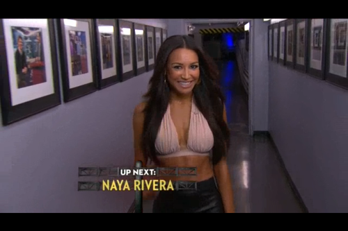 Hot Hot Hot: Naya Rivera Smolders On Kimmel