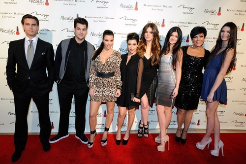 Mama Kardashian Chases Paparazzi Away From Her Brood