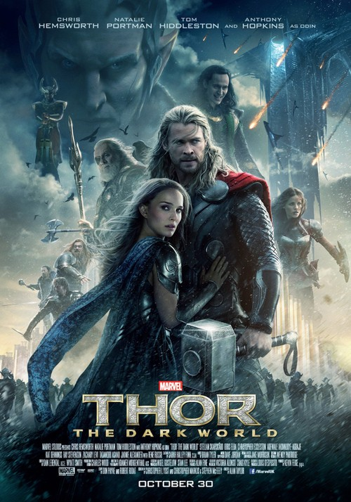 First Look At Brand New Poster For Thor: The Dark World