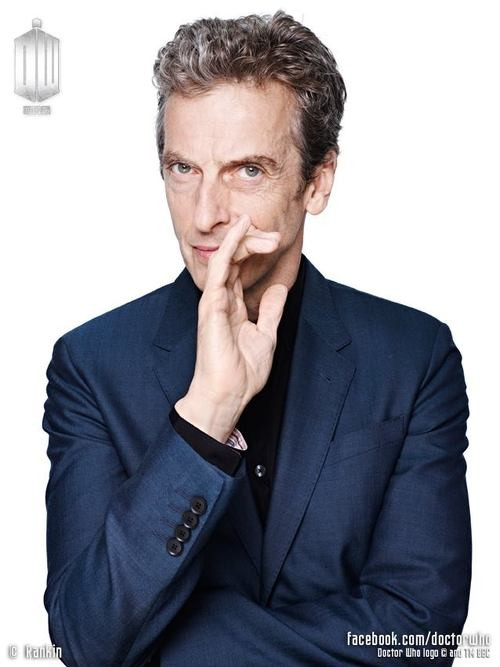 The Doctor Is In: Peter Capaldi Unveiled as 12th Time Lord