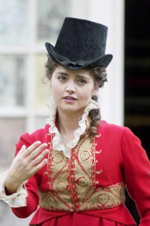 A Companion At Pemberley: Jenna-Louise Coleman Photos Of Adaptation