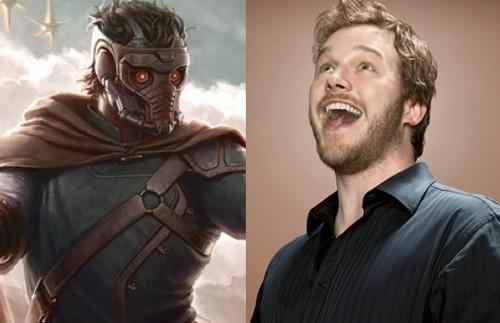 A Sulky Superhero? Chris Pratt Describes Star Lord As