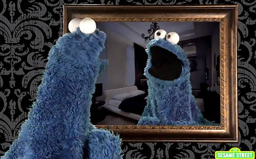 We LOVE It! Sesame Street's Cookie Monster Tackles Icona Pop