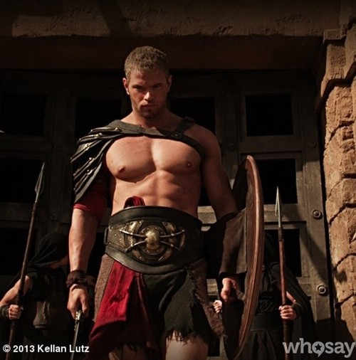 Kellan Lutz Flaunts His Hot Bod As Hercules