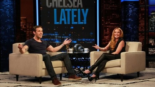 Lindsay Lohan Hosts Chelsea Lately And Pokes Some Fun