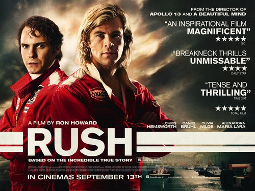 Get A Rush Out Of This New Poster For Ron Howard's Latest Project