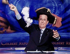 Stephen Colbert Gets Unlucky And Then He Gets EPIC