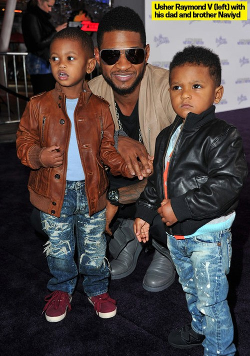 Usher's Mini-Me Is Doing Well After Drowning Scare