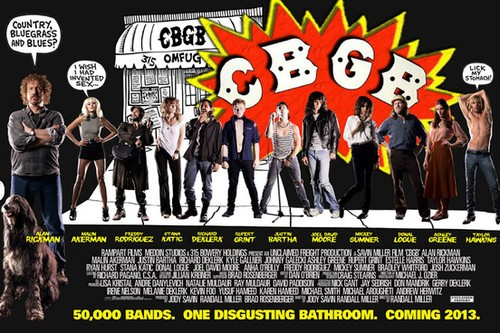 Alan Rickman Replaces His Wand With Rock N Roll Legends In CBGC