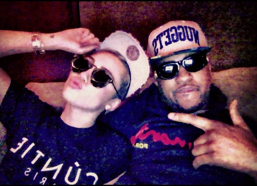 Miley Cyrus Ups Her Hip Hop Cred with Wiz Khalifa Collaboration