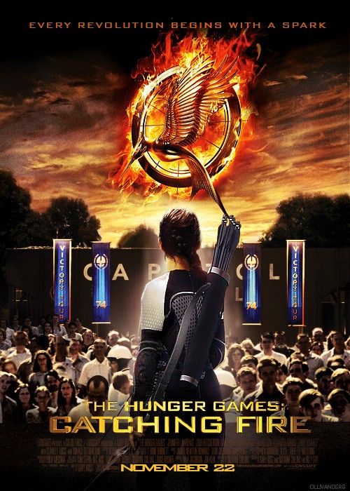 New International Catching Fire Trailer Packs Some Serious Heat