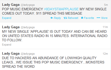 BREAKING: 911 Little Monsters, Lady Gaga Releases