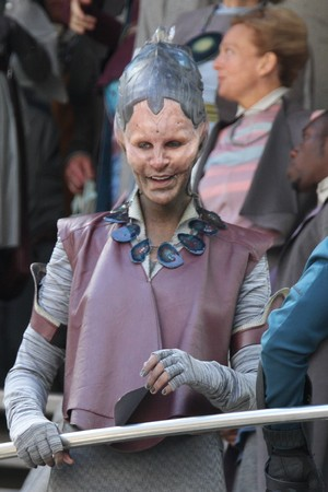 Glenn Close Gets Galactic On The Set Of Marvel's Latest Project