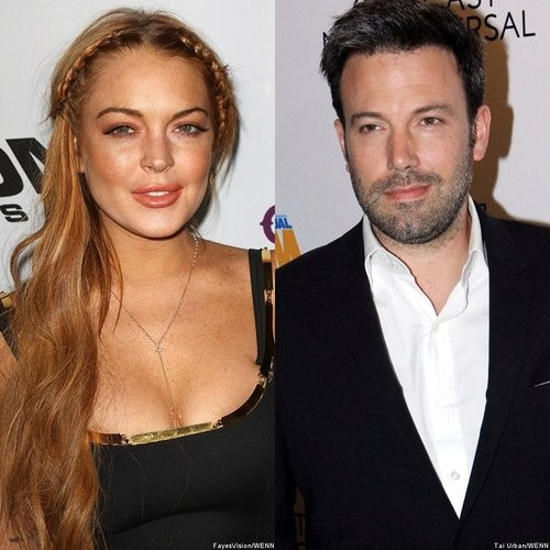 Ben Affleck Visits And Offers Advice To Lindsay Lohan