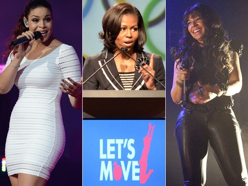 Michelle Obama Recruits Hip-Hop Stars For Let's Move Initiative
