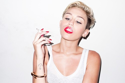 Miley Stuns In More Ways Than One With New Terry Richardson Shoot