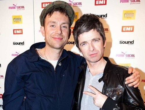 Are Damon Albarn And Noel Gallagher Teaming Up To Make Some Music?