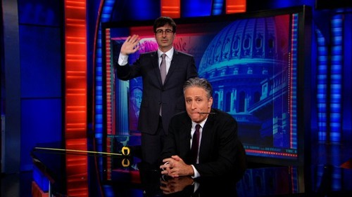 Jon Stewart Ratings Stay High with John Oliver Behind the Desk
