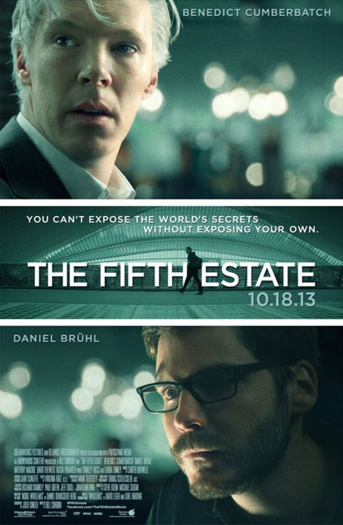 Benedict Cumberbatch Features In New Poster For The Fifth Estate